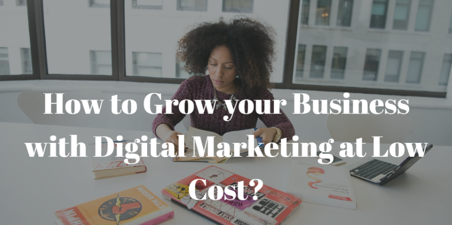 low cost digital marketing